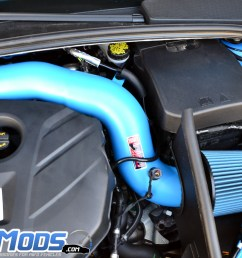 injen cold air intake for the ford focus rs  [ 1152 x 768 Pixel ]