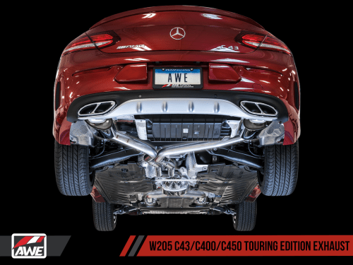small resolution of awe tuning mercedes benz w205 amg c43 c400 c450 exhaust suite awe tuning