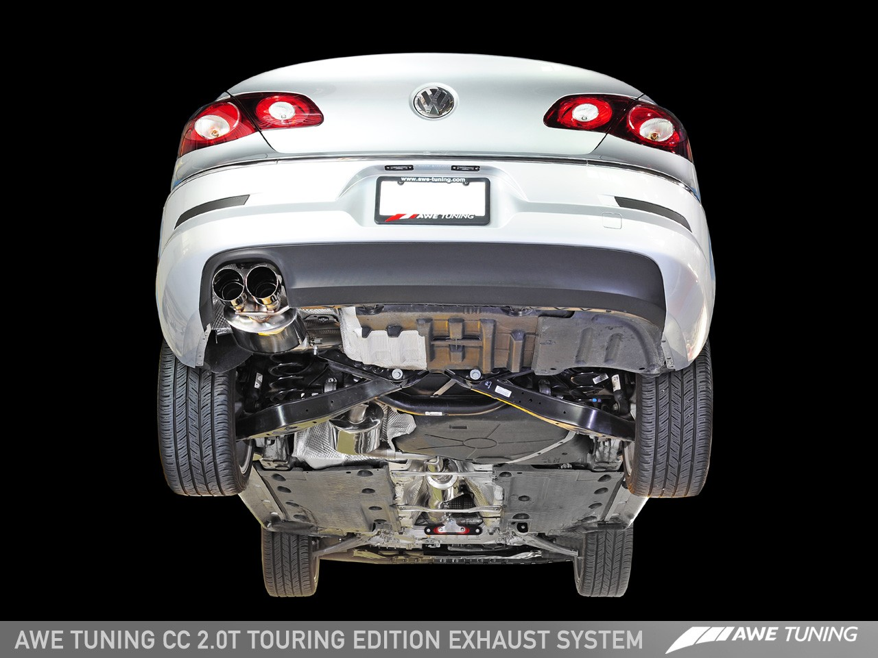 2007 Vw Gti Engine Diagram Awe Tuning Vw Cc 2 0t Touring Edition Exhaust System Awe