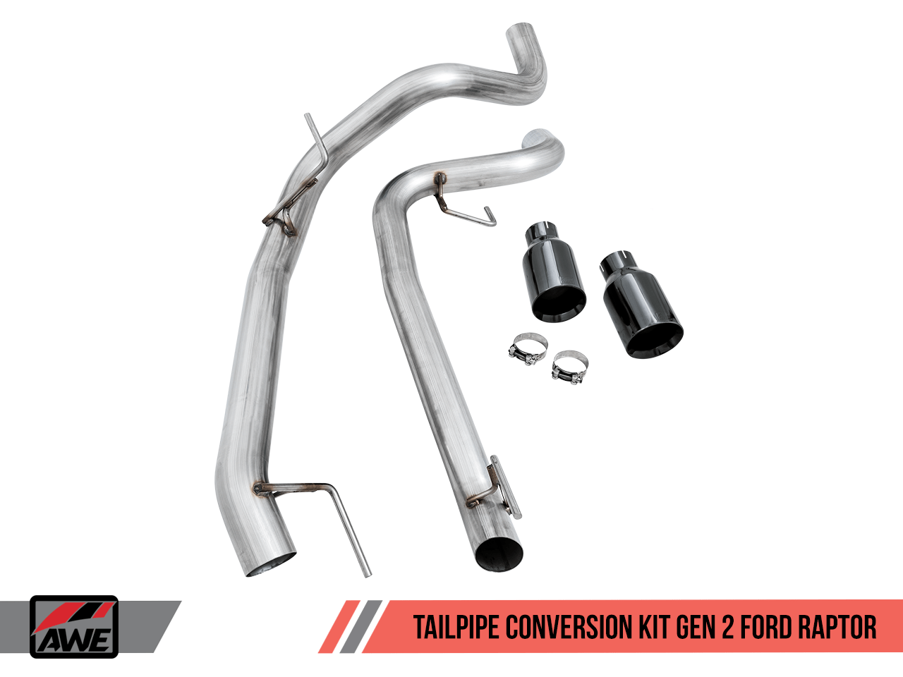 awe fg exhaust suite for the gen 2 ford