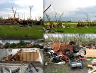 Damage Photos from the Elie Tornado