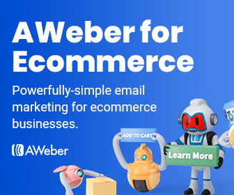 Powerfully-simple email marketing for ecommerce businesses by AWeber