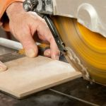 A DIY Guide on Cutting Tiles Using Water Saw