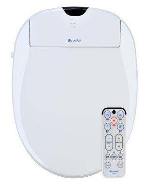 Brondell S1000-EW Swash Elongated Toilet Seat