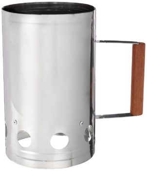 Charcoal Companion Stainless Steel Chimney Charcoal Starter