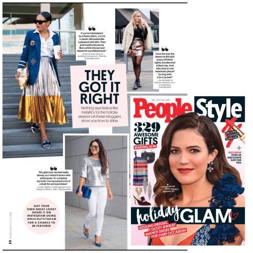 Atlanta fashion blogger featured in People Style Watc Magazine 3