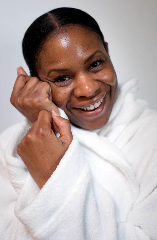 Atlanta blogger achieving silky skin with L'OCCITANE EN PROVENCE -3