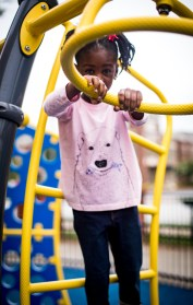 lifestyle blogger Monica Awe-Etuk styles her daughter in organic kids clothing from Hanna Andersson