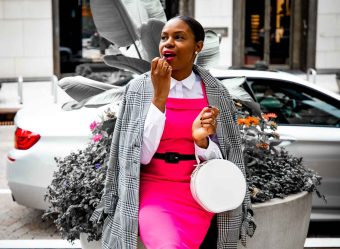 How to wear pink during Breast Cancer Awareness Month