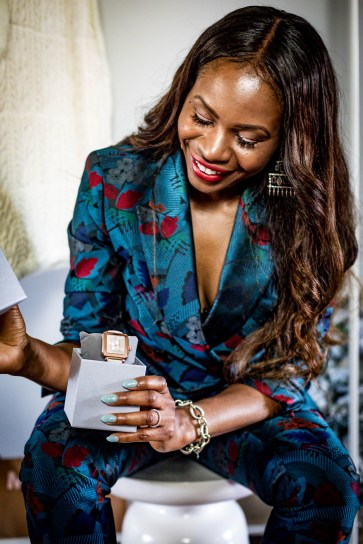 Atlanta fashion blogger Monica Awe-Etuk gives away Michele Watch