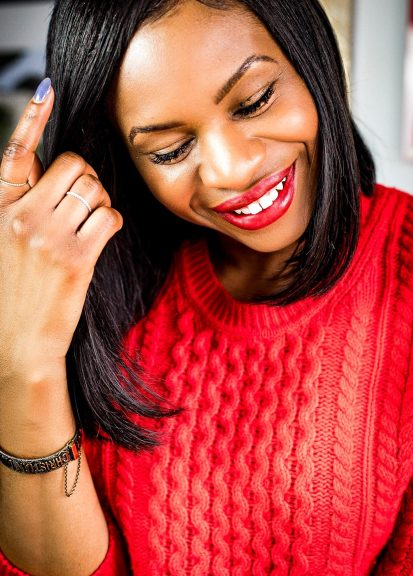 Atlanta lifestyle blogger Monica Awe-Etuk picks the best 3 valentines day lipstick colors for valentines day. lipstick application tips and when to wear red, nude and purple lipstick