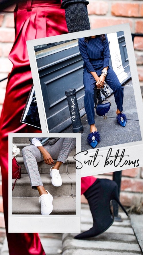 Atlanta blogger Monica Awe-Etuk tells you everything you need to know about the suit trend and how to style suits