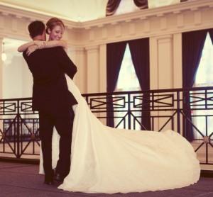 your wedding dress
