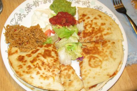 The Easiest Shrimp Quesadillas You'll Ever Make