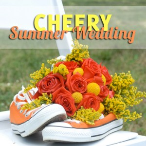 Cheery Summer Wedding // A Well Crafted Party