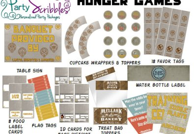 party scribbles hunger games party goods