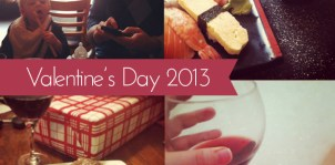{Weekend in Review} Valentine's Day, Ladies' Night Out, and a Lazy Weekend