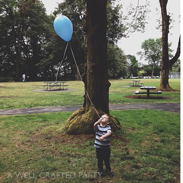 My kiddo really, really liked the balloons.