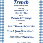 Picnic Week: A French Inspired Picnic Menu