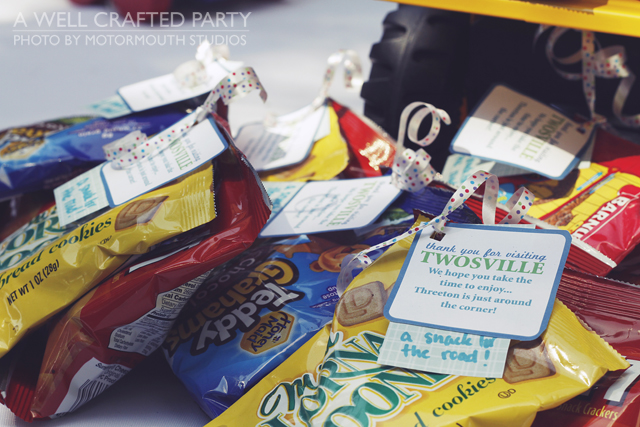 Town Themed Party Favor Ideas // A Well Crafted Party
