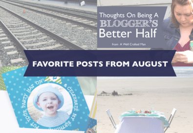 Favorite August Posts from A Well Crafted Party
