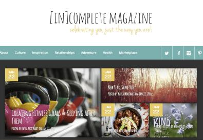 Online Magazine [In]Complete Magazine