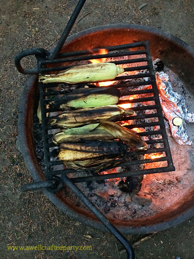 Fire Roasted Corn a How To from A Well Crafted Party
