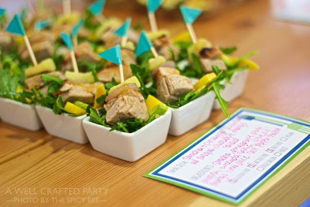 Top Posts of 2014: Free Potluck Printables // A Well Crafted Party