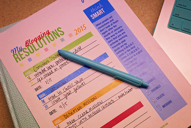 Free Printable Blog Planner 2015 from A Well Crafted Party