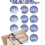 4th of July Wedding Favor - A Well Crafted Party