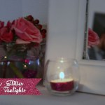 Glitter Tea Lights - A Well Crafted Party