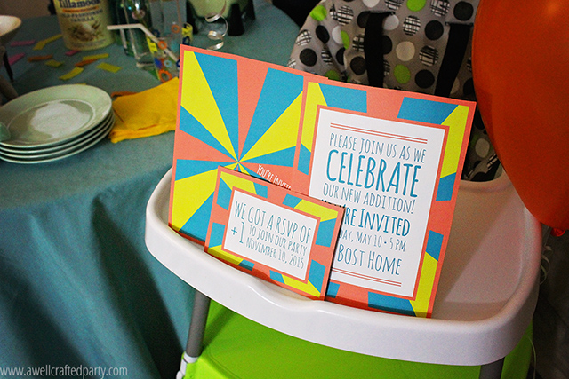 These free printables are perfect for your own welcome baby celebration! // A Well Crafted Party