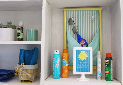 Sunscreen & Bug Spray Station Printables