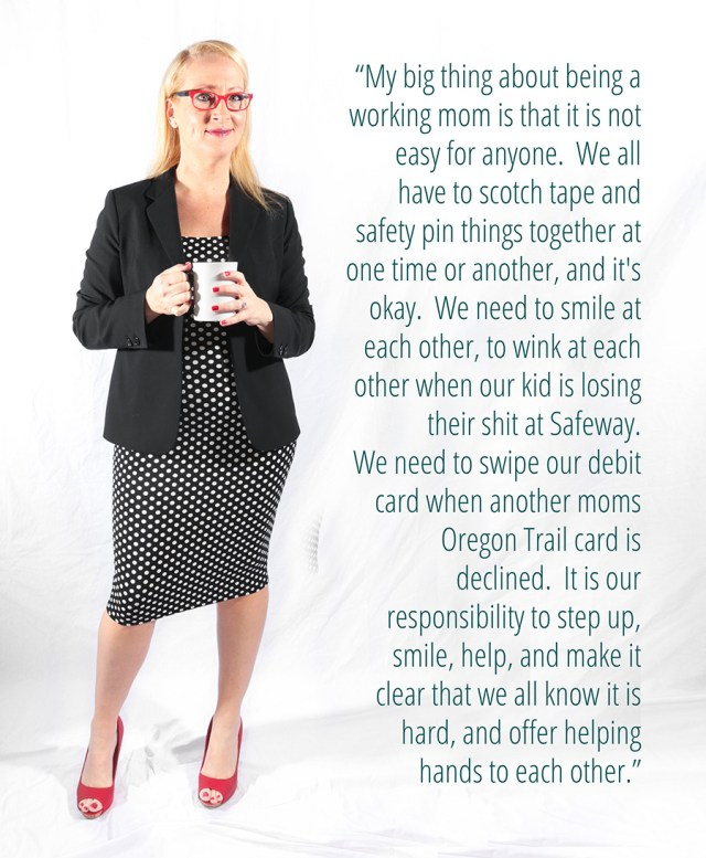 Portrait of a Working Mom: Radio Host, Regional Sales Director & Mother of Twins  - Read More at www.awellcraftedparty.com , Photo by www.mommabearmag.com