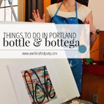 Botte and Bottega in Portland is great for parties or even just a much needed momma's night out - Sponsored Review via A Well Crafted Party