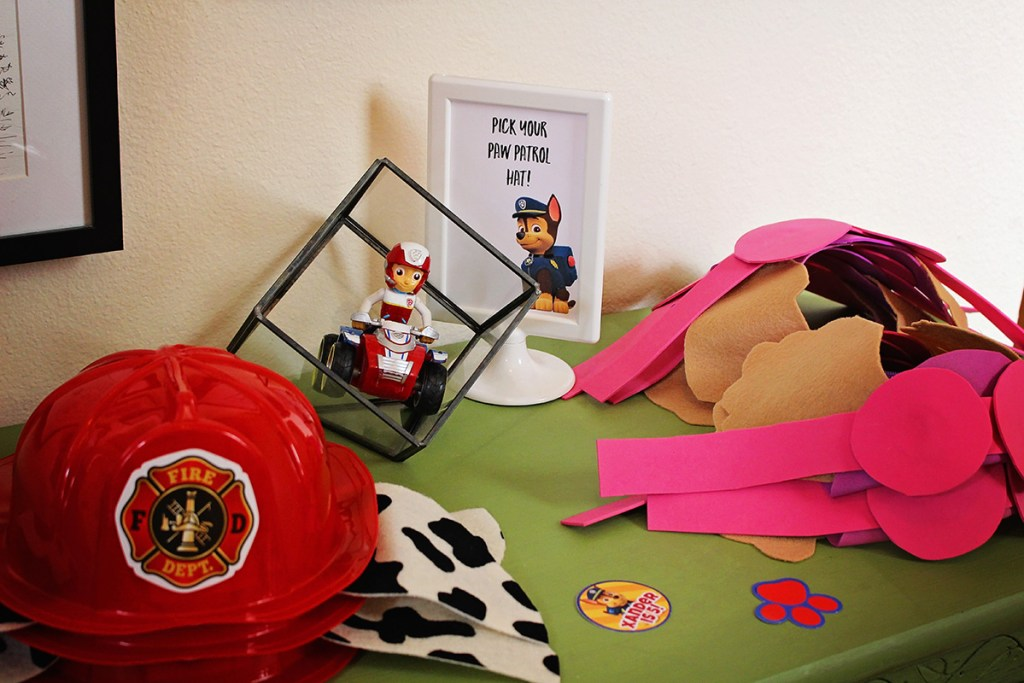 DIY Paw Patrol Party Hats from A Well Crafted Party