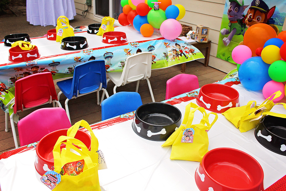 Paw Patrol Party Ideas from A Well Crafted Party
