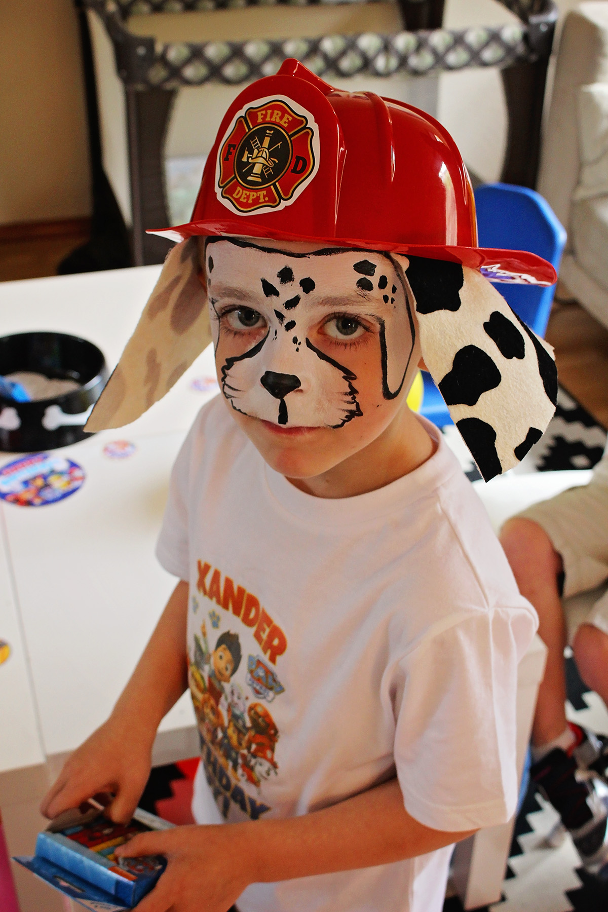 Paw Patrol Party with Face Painter
