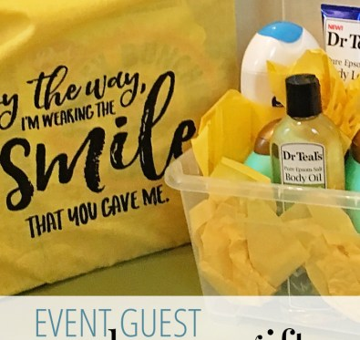 Event Guest Welcome Gift