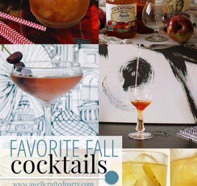 Favorite Fall Cocktails