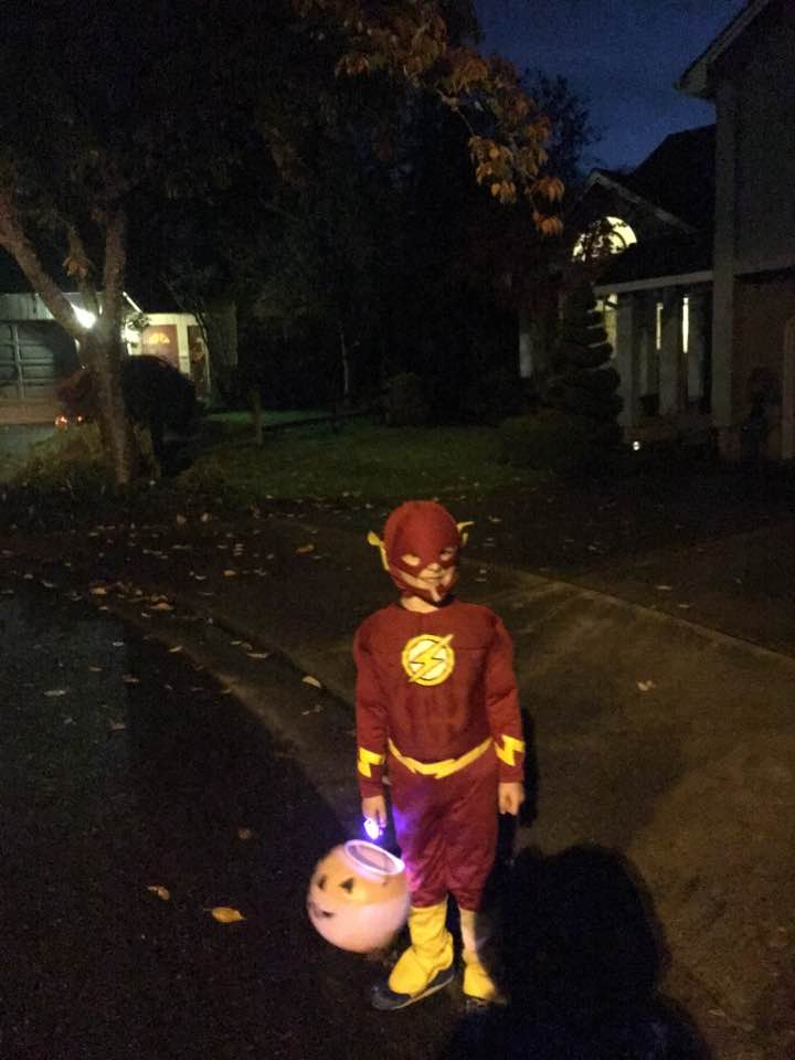 Trick or Treating with Kiddos