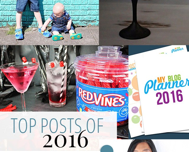 Top Posts of 2016 - A Well Crafted Party