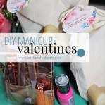 DIY Manicure Valentines + Free Printables from A Well Crafted Party