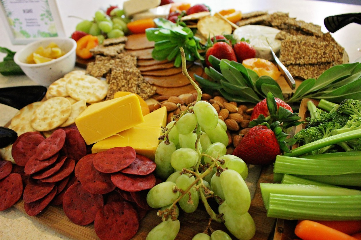 Vegan Cheese Board crafted by This Beautiful Day   Featured on A Well Crafted Party