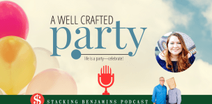 Throwing Affordable Holiday Parties – Podcast with Stacking Benjamins