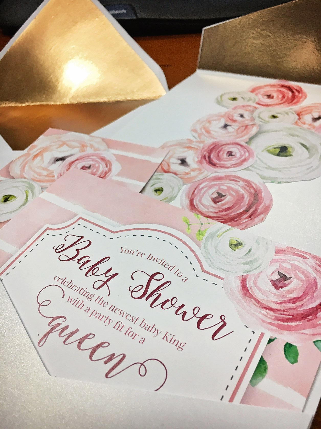 Queen Baby Shower | A Well Crafted Blog