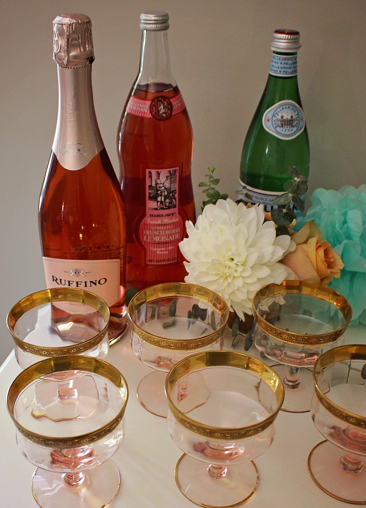 Baby Shower Beverages | A Well Crafted Party