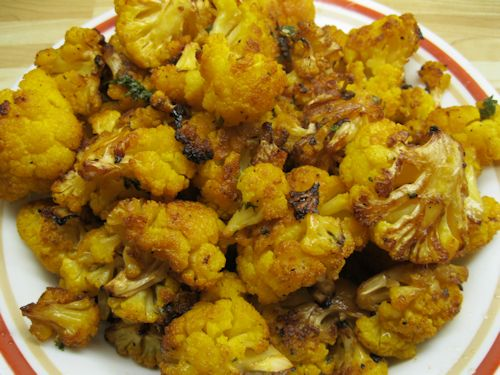 Roasted Orange Cauliflower