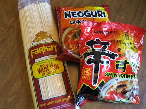 Pick your Chinese noodles