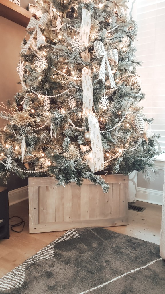 DIY Christmas Tree Box